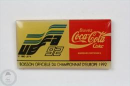 UEFA 1992 - Coca Cola Official Sponsor - Pin Badge #PLS - Coca-Cola