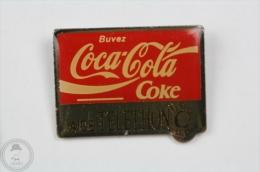 Coca Cola Aide Telethon Pin Badge #PLS - Coca-Cola