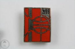 NBB Basketball Logo - Pin Badge #PLS - Baloncesto