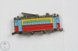 Old Tram - Pin Badge #PLS - Transportes