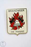 Brandweer De Panne - Fireman/ Firefighter - Pin Badge #PLS - Bomberos
