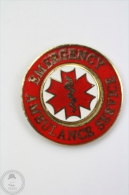 Emergency Ambulance Service - Pin Badge #PLS - Medical