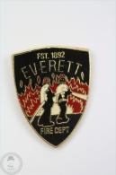 Everett Fire Department Logo - Pin Badge #PLS - Bomberos