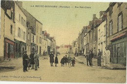 LA ROCHE BERNARD.  Rue Saint James. - La Roche-Bernard