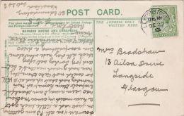 POSTAL HISTORY - 1913 SINGLE CIRCLE CANCELLATION -LEYTONSTONE - Postmark Collection
