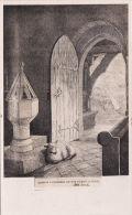 LYNCHMERE CHURCH -LAMB DURING A STORM - Surrey