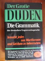 """Der Grossee Duden / Band 4 """"Duden Grammatik Der Deutschen Gegenwartssprache""""  De 1959 - Livres Scolaires"""
