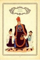 Trachten Der Alpenländer - LECHTAL Alter Original 10 -Farbendruck 1937 - Ohne Zuordnung