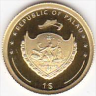 PALAU. 1 DOLLAR 2009.OR, GOLD. 15 000 Ex. PROOF .DON BOSCO - Palau