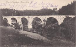 Bridge, Viadukt Wurzbach-Barenmuhle, WURZBACH (Thuringia), Germany, PU-1909 - Wurzbach