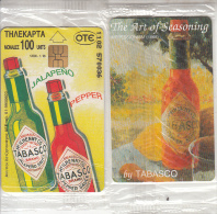 GREECE - Tabasco, CN :  1102-5, Tirage 7000, 01/96, Mint - Greece