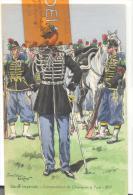 Garde Impériale - Commandant De Chasseurs à Pied , Trés Bon état ( Voir Scan ) - Uniformes