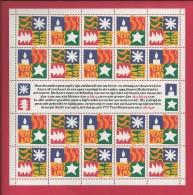 NEDERLAND, 1994, MNH Sheetlet, December Issue, 1628-1629, F2458 - Blocks & Sheetlets