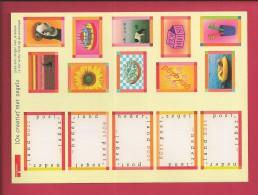 NEDERLAND, 1998, MNH Sheetlet, C Reative Stamps, 1668-1672, F2461 - Blocks & Sheetlets