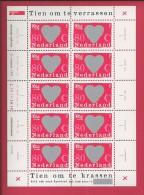 NEDERLAND, 1997, MNH Sheetlet, Greetings Stamps, 1607, F2463 - Blocks & Sheetlets