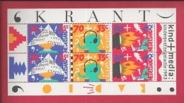 NEDERLAND, 1993, MNH Sheetlet, Child Welfare , Nrs. 1492-1494, F2472 - Blocks & Sheetlets