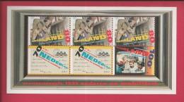 NEDERLAND, 1995, MNH Sheetlet, Summer Issue, Nrs. 1540-1542, F2479 - Blocks & Sheetlets