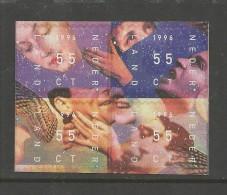 NEDERLAND, 1996, MNH Sheetlet Of 4, December Issue Nrs. 1599-1602, #5539 - Blocks & Sheetlets