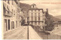POSTAL     CAMPRODON  -GERONA-  CALLE DEL DOCTOR ROCH - Gerona