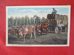 Transportation Of Cotton By Road 1920 Cancel  Ref 1417 - Industry