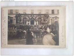CPA - EPERNAY - Carte Photo - M.Poincare A  L´hôtel De Ville à La Remise De La Croix De La Guerre - Epernay