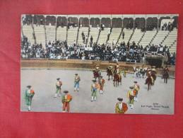 Mexico Bull Fight Grand Parade  Ref 1418