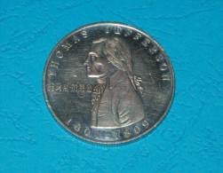 Token Thomas Jefferson = 3,8 Cm. Diameter - Etats-Unis