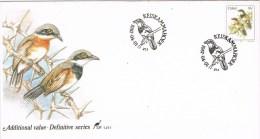 9812. Carta F.D.C. KESIKAMMAHOEK (Ciskei) 2001. Bids, Aves, Pajaros - Ciskei