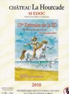 Étiquette Vin BD HERMANN Festival Montalivet 2014 - Livres, BD, Revues