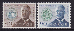 Norway #535-36 F-VF Mint NH ** Johan Hjort, Zoologist - Norway