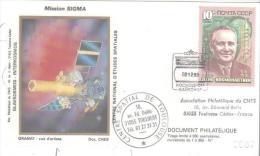 "U R S S   BAIKONOUR  Mission ""Sigma""  2/12/89 - FDC & Commemoratives"