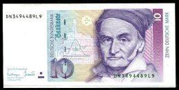 3261 - BUND - 10 DM-Schein Von 1993 - Ser.-Nr. DK....L, Minimal Gebraucht - WEST GERMANY Banknote - [ 7] 1949-… : RFA - Rep. Fed. Tedesca