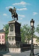 Cp , LUXEMBOURG , LUXEMBOURG , Monument équestre De Guillaume II , Roi Des Pays-Bas Et Grand Duc De Luxembourg - Luxembourg - Ville