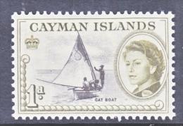 CAYMAN ISLANDS  154  (o)   CAT  BOAT - Cayman Islands