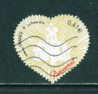 FRANCE  -  2014  Baccarat  61c  Used As Scan (without Selvedge) - France