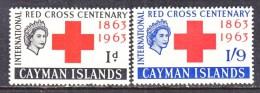 CAYMAN ISLANDS  169-70  *   RED  CROSS - Cayman Islands
