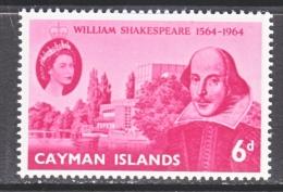 CAYMAN ISLANDS  171   **    SHAKESPEARE - Cayman Islands