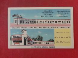 - Montana> Miles City Hammill's Tourist Camp  & Kuilman's Tourist  Court Bismarch ND     Ref 1419 - Miles City