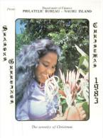 (PH 561) Nauru Philetelic Bureau Postcard - 1983 - Nauru