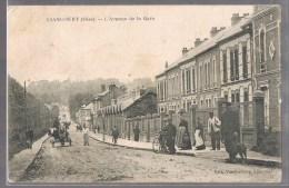 LIANCOURT . L'Avenue De La Gare . - Liancourt