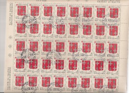 SMOM MALTA  N°177  Cote 16.00 Feuille / Vel - Malte (Ordre De)