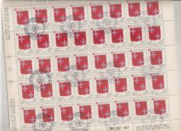 SMOM MALTA  N°251  Cote 10.00 Feuille / Vel - Malte (Ordre De)