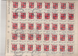 SMOM MALTA  N°178 Cote 26.00 Feuille / Vel - Malte (Ordre De)
