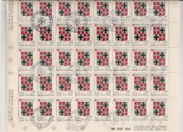 SMOM MALTA  N°170 Cote 10.00 Feuille / Vel - Malte (Ordre De)