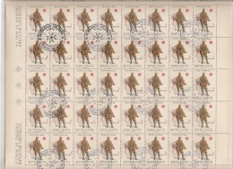 SMOM MALTA  N°167 Cote 40.00 Feuille / Vel - Malte (Ordre De)