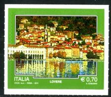 ITALIA / ITALY 2014** - Turismo - Lovere - 1 Val. Autoadesivo Come Da Scansione - 6. 1946-.. Repubblica