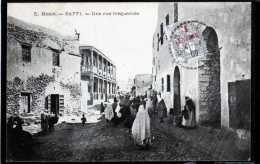 MAROC SAFFI UNE RUE FREQUENTEE TIMBREE - Marokko