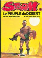 No PAYPAL !! : Don Lawrence & Dick Matena Storm 3 Le Peuple Du Désert , éo Glénat 1981 TBE/TTBE - Editions Originales (langue Française)