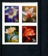 271131865 USA POSTFRIS MINT NEVER HINGED POSTFRISCH EINWANDFREI SCOTT 3490a Bloemen Flowers Onder Ongetand - United States