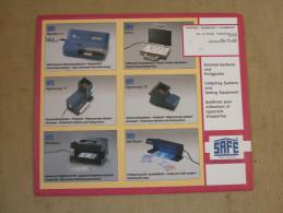 SUPPLEMENT SAFE FRANCE 2000 CARNETS . - Pre-Impresas